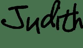 Judith handtekening