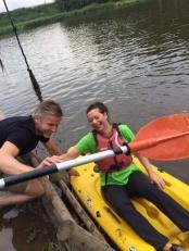 ppff voor het eerst in een kano....